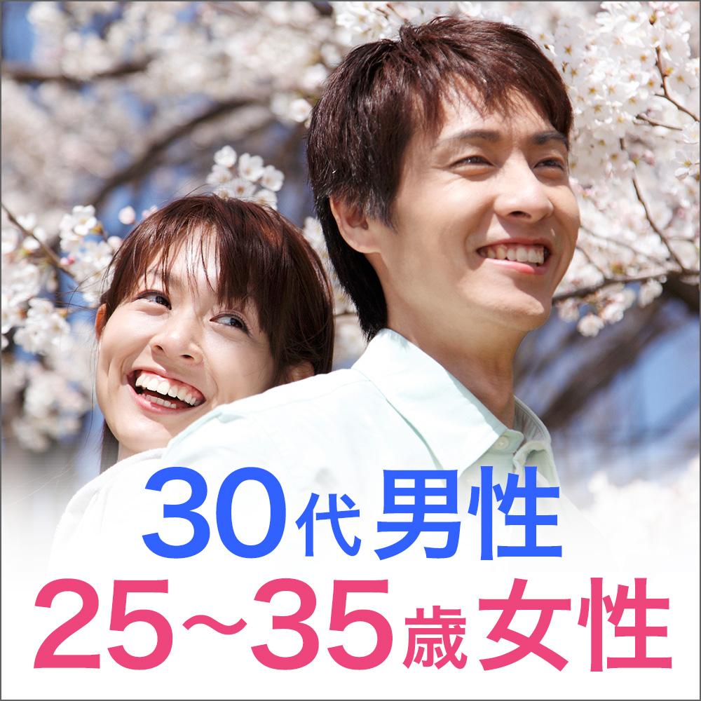 30代男性vs25歳~35歳女性/婚活編
