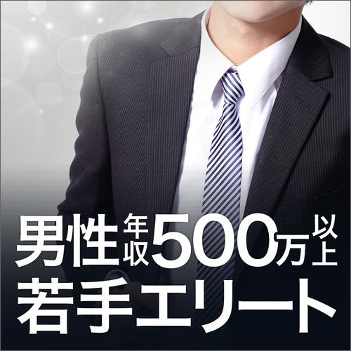 男性年収500万以上/若手エリート編